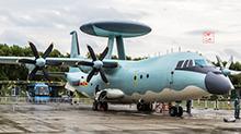 中国现役最新预警机登上航母?