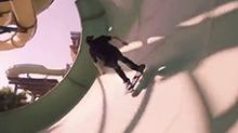 在超豪华水上乐园疯狂玩滑板是怎样的体验