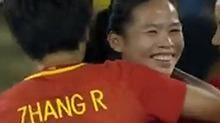 女足小组赛 中国队2:0胜南非