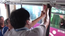 """资兴:为公交车安装""""自动破窗器"""""""