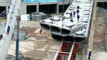 超级混凝土建新桥 厚度只有0.2米