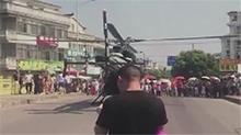 上海:结婚迎亲租用直升机 起降停靠致拥堵引批评