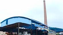 三和水玻璃厂直排黑烟 环保责令停产整顿