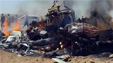 俄军方一架米-8直升机在叙利亚被击落
