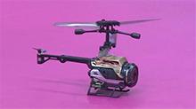玩名堂20160127期:银辉玩具谍影直升机