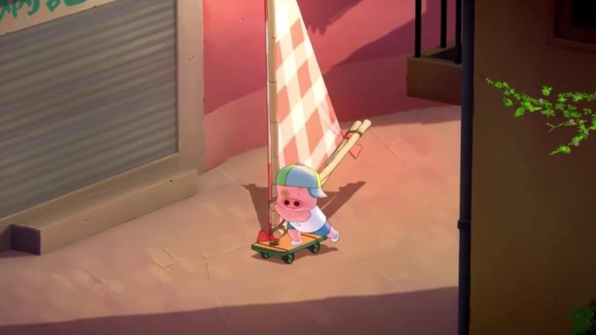 捏鱼丸有什么意思 麦兜想做猪头发明家