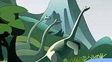 小笨熊恐龙故事第26期:雷龙的故事(一)