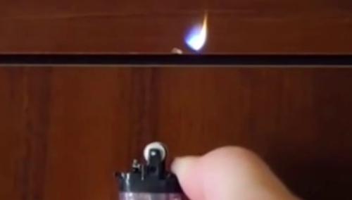 """打火机口加笔油 这个""""魔术""""好神奇"""