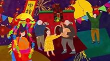 老长沙的温馨中秋 阖家共赏湖南卫视中秋之夜