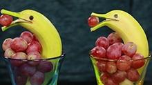 【方大手不吃鱼】好吃又好玩的水果动物