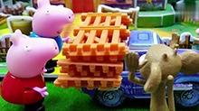 【<B>小猪</B><B>佩奇</B>玩具秀】<B>小猪</B><B>佩奇</B>盖房子