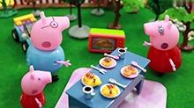 【<B>小猪</B><B>佩奇</B>玩具故事】<B>小猪</B><B>佩奇</B>一家的野餐
