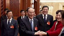 王岐山参加湖南团审议 坚决惩治群众身边的不正之风