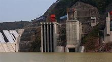 永州:涔天河水库坝前水位264.77米 老坝被淹没