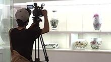 """醴瓷对接""""一带一路"""" 中阿卫视摄影组从迪拜飞来"""
