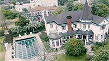 壕!沈梦辰上海豪宅疑曝光 拥有超大庭院和泳池