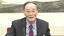 王岐山参加青海代表团审议