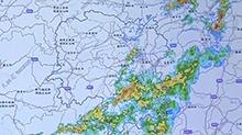 预计未来24小时永州、邵阳、长沙东部等地将出现暴雨