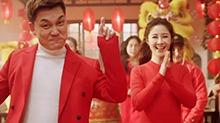 李锐春节回家 画龙点睛欢跳吉年舞