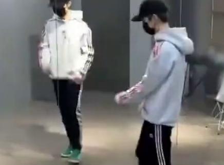 鹿晗为跨年晚会练舞,将带来全新舞蹈秀表演