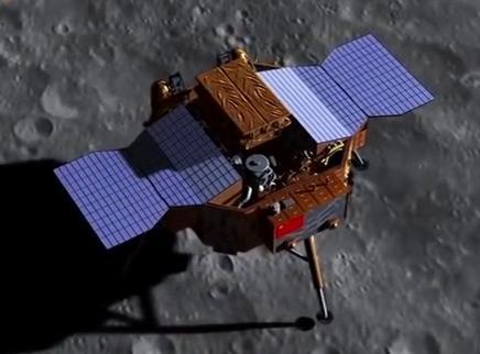 嫦娥四号成功登陆在月球正面还是背面?