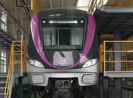 地铁4号线黄榔停车场施工收尾