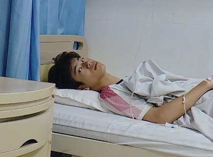 08期:陈天恒中暑住院