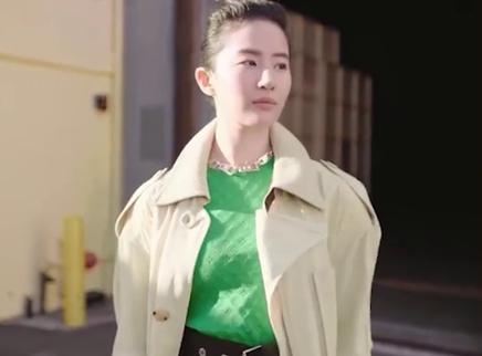刘亦菲官宣新代言