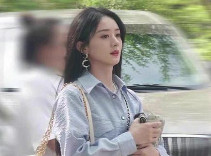 赵丽颖离婚后首录综艺