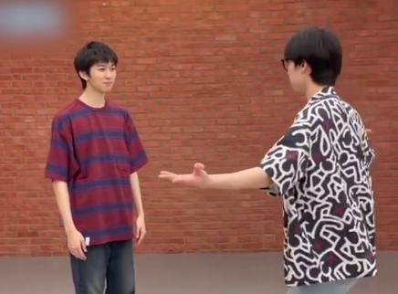 林墨张嘉元搞笑斗舞